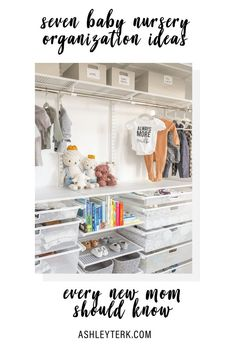48 New Ideas baby gear organization ideas Clean Bedroom, Baby Bedroom, Nursery Room, Girl Nursery, Safari Nursery, Jungle Safari, Nursery Closet Organization, Organization Ideas, New Baby Dress