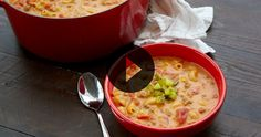 Cheeseburger Mac Soup