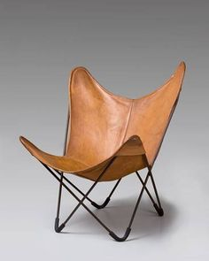 BKF Chair, a.k.a. Butterfly chair designed by the Austral Group, Argentina in 1938