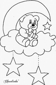 Crafts,Actvities and Worksheets for Preschool,Toddler and Kindergarten.Lots of worksheets and coloring pages. Applique Templates, Applique Patterns, Applique Designs, Quilt Patterns, Embroidery Designs, Art Drawings For Kids, Easy Drawings, Easy Coloring Pages, Coloring Books