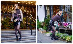 shiny blogger skirt