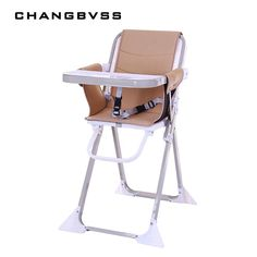 2018 New Simple Portable Adjustable Mommy Feeding Chair Safty Anti-Slip Baby Chair For 6-60M Kids Infant High Chair poltrona