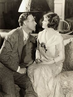 """With Margaret Lawrence in """"Isabel"""", 1925"""
