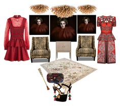 """""""Untitled #1161"""" by aifosbr ❤ liked on Polyvore featuring Floyd, Alexander McQueen, Boucheron and Charlotte Olympia"""
