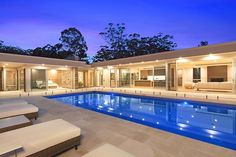 Property Report for 332 Matcham Road, Matcham NSW 2250 Modern House Floor Plans, Pool House Plans, Dream House Plans, Cool House Designs, Modern House Design, U Shaped Houses, Rest House, Luxury Homes Dream Houses, House Layouts