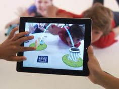 Augmented Reality iPad game for kids