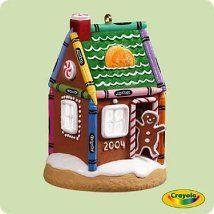 2004 Crayola - Gingerbread Hallmark Ornament | The Ornament Shop