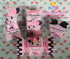 Kit Personalizado Luxo Minnie Rosa