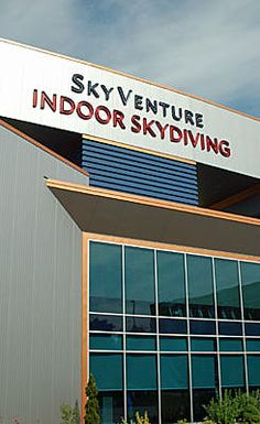 Adventure awaits inside SkyVenture in Nashua, NH, where novices learn the proper techniques for a simulated skydive, then ride 134 mile-per-hour winds.