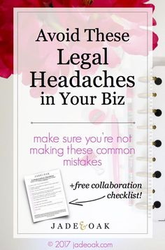 Avoid These Legal Headaches Learn The Most Commo Business Planning, Business Tips, Online Business, Legal Business, Business Entrepreneur, Business Marketing, Marketing Ideas, Content Marketing, Affiliate Marketing