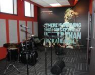 School of Rock Rehearsal Room   Band practice room.