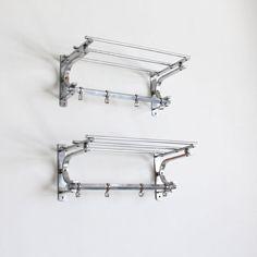 art deco coat rack