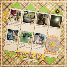 Week 42: A Confession Weekly Project Templates 11 Capture Life: October by Tracie Stroud Hard Candy Alpha by Tickled Pink Studio
