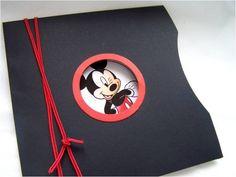 Convite do Mickey, super fofo!