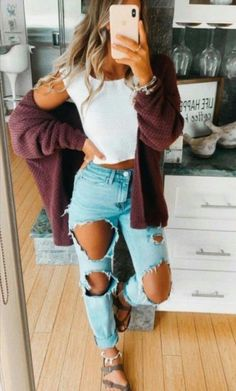 Trendy Fall Outfits, Casual School Outfits, Cute Teen Outfits, Tomboy Outfits, Cute Comfy Outfits, Teen Fashion Outfits, Mode Outfits, Simple Outfits, Stylish Outfits