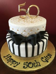 Birthday Cakes For Women with regard to Newest - Birthday Ideas Make it Elegant Birthday Cakes, Birthday Cakes For Men, Birthday Present Cake, 50th Birthday Cake Toppers, Birthday Cake With Photo, 18th Birthday Cake, Birthday Cake Decorating, 50 Birthday, 50th Cake