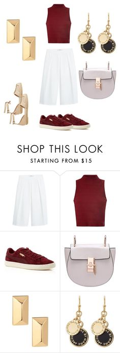"""""""Roses are red"""" by edens-paradise ❤ liked on Polyvore featuring MANGO, Glamorous, Puma, Rebecca Minkoff, Marc by Marc Jacobs and Antik Batik"""