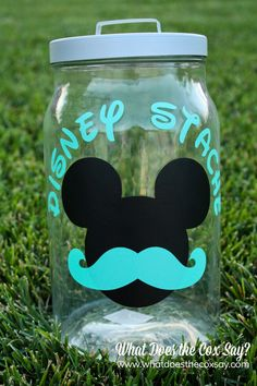 We are saving for a trip to Disneyland. This would be SO cute to collect our quarters :)