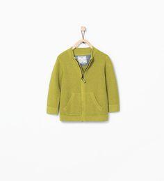 Basic jacket-Sweaters & Cardigans-Baby boy (3 months - 3 years)-KIDS | ZARA United States