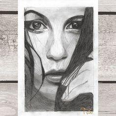 #art #drawing #drawings #drawingart #graphitedrawing #graphiteart #pencil #instaarts #woman #women #faces #eyes