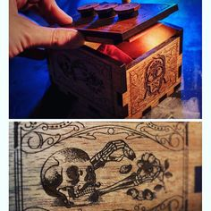 ...for the hardcore:  the Arcana Artifact.  A locked puzzle box we WILL NOT give you the password to.  You gotta earn the challenge coin and cards inside. by scamschoolbrian