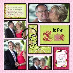 Image result for scrapbook layouts using creative memories rugged paper