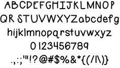 Free font for commercial and personal use {no credit needed}!