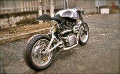 "Yamaha TR1 Cafe Racer ""Fireball"" - Grease n Gasoline"