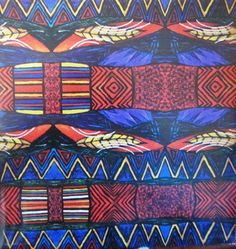 Vintage Ethnic Christmas Kwanzaa Gift Wrap Paper 4 Patterns with African…
