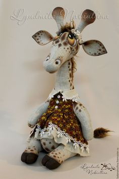 Купить Комплект из 2 МК по жирафам - комбинированный, мастер-класс, жирафа, жираф, интерьерная игрушка