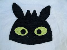 """How to Train Your Dragon """"Toothless"""" Hat"""