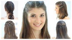 Peinados para cabello corto o media melena