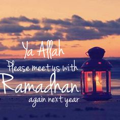 If you really miss Ramadan and want the same feeling back, spend your days and nights as you did in Ramadan.