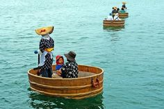 "These boats called ""Tarai Bune"" mainly seems to be used around Sado Island."