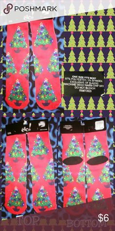 Selling this Christmas Trees Sublimation Crew Socks 1 SFM on Poshmark! My username is: gothicbluecj. #shopmycloset #poshmark #fashion #shopping #style #forsale #Rue21 Etc! #Accessories