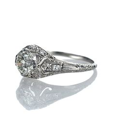 Leigh Jay Nacht Inc. - Engagement Rings - has a lot of really nice ones for not incredibly expensive