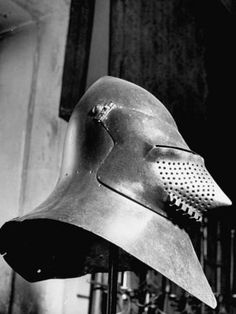 Helmet from the 14th Century Once Worn by Soldiers Defending the Doge's Palace Premium Photographic Print at AllPosters.com