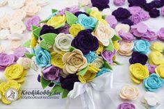 Ballagási rózsacsokor - Sizzix vágósablonokkal