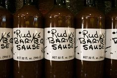 """Rudy's BBQ in Austin (and surronding) Texas has some of the best BBQ in the state and some of the best """"Sause"""" in the country. You can order it online for a taste of Texas"""