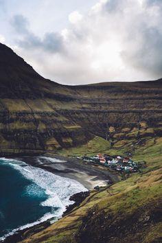 """ Tjørnuvík Streymoy, Faroe Islands by Simon Dubreuil "" """