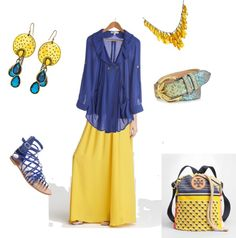 I've got the blues, created by eddodd on Polyvore