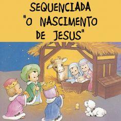 """Sequenciada de 17 páginas com o tema 'Nascimento de Jesus"""". Saiba mais sobre as atividades e veja a AMOSTRA no http://www.janainaspolidorio.com/sequenciada-o-nascimento-de-jesus.html"""