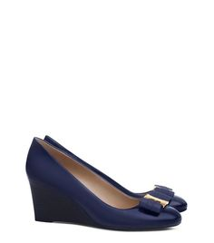 from Tory Burch · GEMINI LINK BOW WEDGE