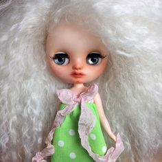 Custom Middie Blythe OOAK named Matilda by by EmmyBlythe on Etsy