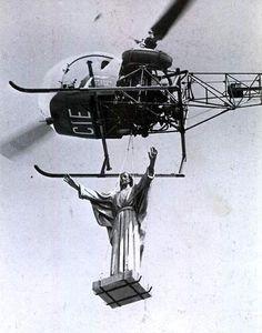 JC aloft.