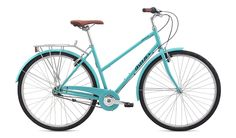 """Breezer Downtown 5 ST 2013  I surprisingly don't love the """"Tiffany blue"""".  A little green in it for a turquoise or teal and I would be ecstatic."""