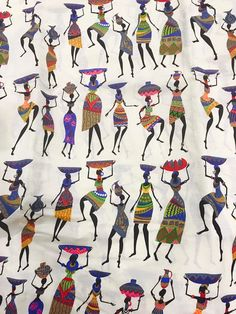 African fabric Mali Wax/ Ankara Fabric /Crafts/ Supplies/ African Fabric/ Ankara Clothing/Ankara Dress/ Fabric Sold by Yard African Textiles, African Fabric, African Prints, Ethnic Patterns, Print Patterns, Ankara Fabric, Ankara Dress, African Art Paintings, Fabric Bracelets
