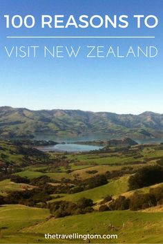 There are many reasons to visit New Zealand ranging from the adrenaline filled activities to the amazing scenery. I've decided to come up with 100 reasons to visit New Zealand. So, if you're looking for things to add to you're New Zealand bucket list, look no further!