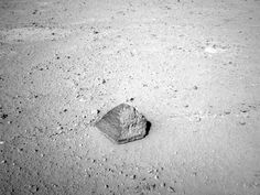 NASA - 'Jake Matijevic' Contact Target for Curiosity( A little pyramid on Mars!!)