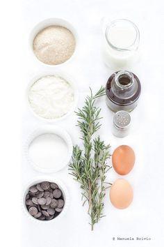Plumcake olio di oliva, cioccolato e rosmarino - Ingredienti